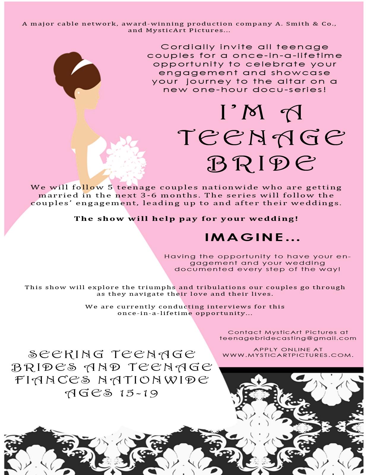 I'm a Teenage Bride